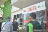 Dompet Dhuafa serahkan bilik disinfektan ke Dinkes Sulsel
