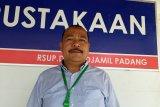 RSUP M Djamil Padang isolasi dua balita, demam batuk dan sesak napas setelah kontak dengan orang dari daerah terjangkit