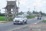 Pemeriksaan diperketat di posko perbatasan Anjir Kapuas cegah COVID-19