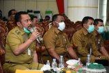 Bupati Kampar laporkan situassi terkini pencegahan COVID-19 ke Gubernur Riau