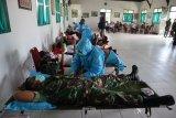 Persediaan PMI menipis, Kodim 0314 Inhil lakukan donor darah