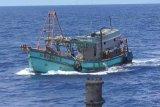 Dua kapal ikan asing ilegal dilumpuhkan di Laut Natuna Utara