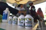 Disinfektan herbal buatan BPTP Sulawesi Tengah