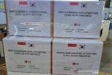 Sekitar 50.000 alat tes COVID-19 dari Korsel tiba di Soekarno-Hatta hari ini