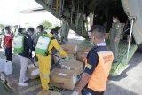 Pesawat angkut APD kembali tiba di Lanudsri Manado