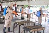 Wali Kota Magelang  pimpin penyemprotan disinfektan massal