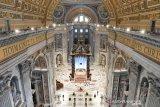 Pada Jumat Agung, Paus Fransiskus dengar kesedihan tahanan dan korban  corona
