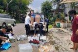 Polres Bekasi tangkap penimbun hand sanitizer