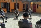 Rapat di bawah sinar matahari pagi digelar Bawaslu Bangka Tengah