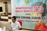 Pasien positif COVID-19 asal Barito Timur peserta Ijtima Asia di Gowa