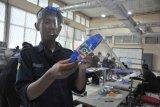 Mahasiswa Polsri produksi Face Shield untuk tenaga kesehatan