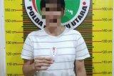 Polda Maluku Utara tangkap lima pelaku penyalahgunaan narkoba