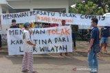 Puluhan warga Menawan Kudus keberatan Balai Diklat dijadikan tempat karantina