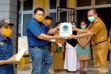 RSUD Kolonodale  dapat bantuan 300 masker dari NasDem