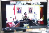 Pemkab Barut ikuti rapat dengan Mendagri melalui konferensi video