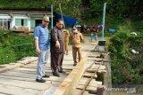Akses 1.500 warga terganggu, DPRD Limapuluh Kota desak perbaikan jembatan rusak di Nagari Pandam Gadang
