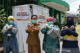 CPM  sediakan bilik penyemprotan disinfektan untuk Puskesmas di Palu