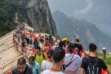 Situs-situs wisata di China mulai kembali dipadati pengunjung