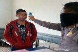 Polres Boyolali pantau kedatangan pemudik di Stasiun Telawa