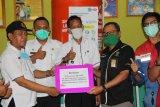 Pertamina RU II Sungai Pakning kembali salurkan bantuan APD ke Puskesmas