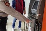 Mesin ATM BNI di Kota Jambi  dibobol perampok menggunakan mesin las