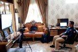Bupati Kampar video conference dengan Mendagri bahas COVID-19