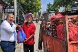 HUT Ke-57, Bank Jateng Purwodadi bagikan 100 paket sembako