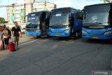Operasional Bus Damri Soekarno-Hatta dihentikan total terkait COVID-19