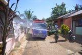 Lantamal VIII lakukan penyemprotan disinfektan di Pandu