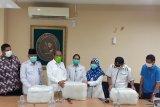 Gerindra Sumbar salurkan APD penanganan pasien COVID-19 ke RSUP M Djamil