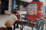 Jasa Raharja berikan bantuan wastafel portable di terminal Semarang