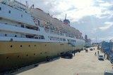 PT Pelni lakukan pengamanan untuk KM Lambelu di Pelabuhan Makassar