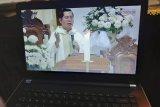 Ribuan Umat Katolik Keuskupan Manado ikuti Misa Kamis Putih live streaming