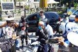 Polisi Tasikmalaya razia pengendara yang tidak pakai masker