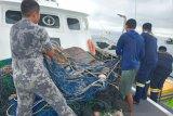 Pengawas amankan enam alat tangkap pukat harimau di perairan Bangka Selatan