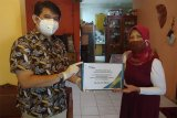 Pandemi COVID-19, BPJAMSOSTEK Semarang Majapahit datangi rumah ahli waris serahkan santunan