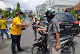 Partai Golkar OKU bagikan 1.000 masker secara gratis