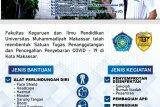 FKIP Unismuh Makassar siapkan sembako bagi mahasiswa terdampak COVID-19
