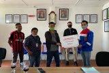 Pertamina Sumbagsel salurkan bantuan paket sembako untuk wartawan