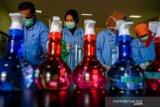 BPOM Palu produksi disinfektan untuk fasilitas publik