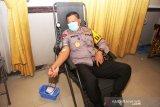 Personel Polda Sumsel sumbang darah 543 kantong ke PMI