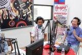 Honda Talkshow Safety Riding di dua radio Kota Palu