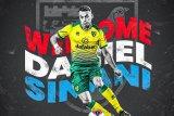 Norwich rekrut penyerang Luksembourg Sinani tiga tahun