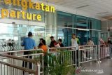 Bandara Depati Amir Pangkalpinang kurangi jam operasi untuk cegah penyebaran COVID-19