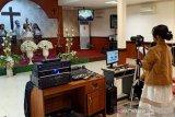 Gereja di Palu ibadah Rayakan Paskah dengan daring