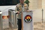 Densus 88 menangkap satu terduga teroris di Sidoarjo Jatim