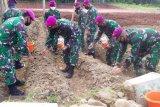 Batalyon Infanteri 9 Marinir lepaskan bibit ikan dan penamanan pohon