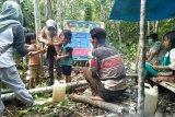 Suku Anak Dalam diberikan pendidikan dan cek kesehatan untuk cegah COVID-19