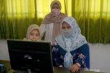 Sebagian besar SMP di Kota Yogyakarta gelar tes daring