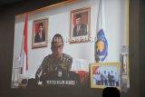 Rakor Implementasi Pembatasan Sosial Berskala Besar by Video Conference Bupati Se-Indonesia